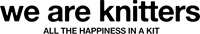 We are knitters logo